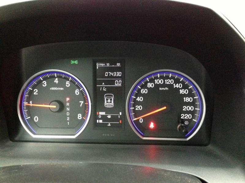 Приборная панель хонда срв 2008